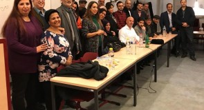 EURO ARAB LITERARY CAFE IN BRUSSELS – HOURIA MORTADA